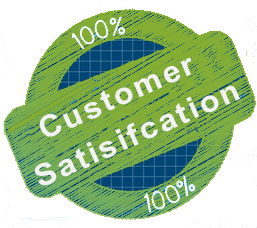 customer satifaction 100%